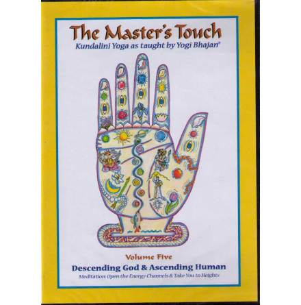 The Master´s Touch vol 5: Descending God & Ascending Human - DVD med Yogi Bhajan