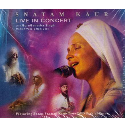 Live in Concert - CD& DVD av Snatam Kaur